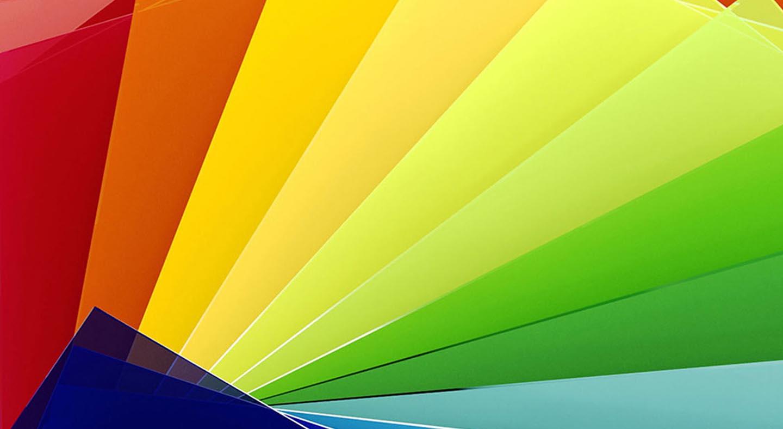 Tấm acrylic các màu phổ biến