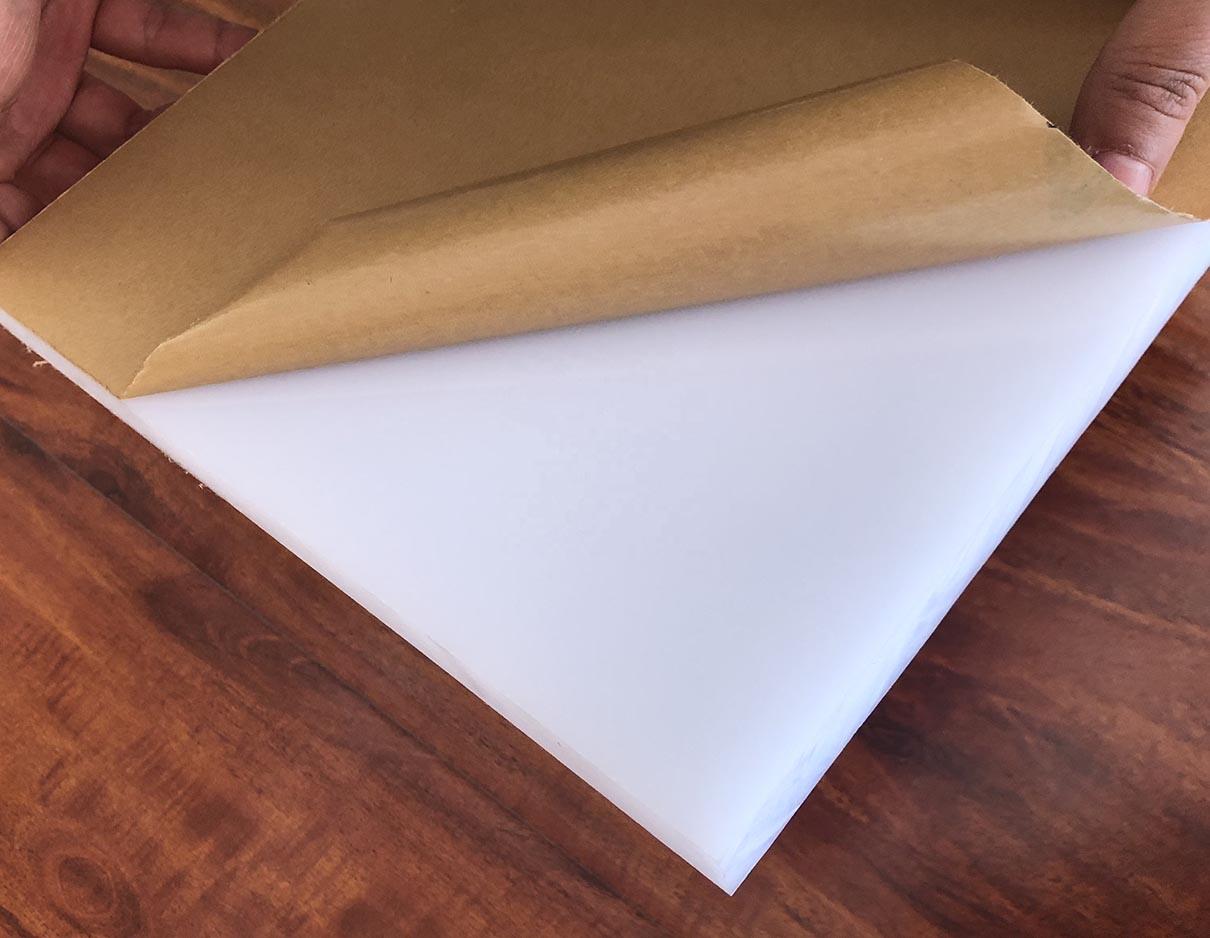 Tấm mica fusheng màu trắng đục