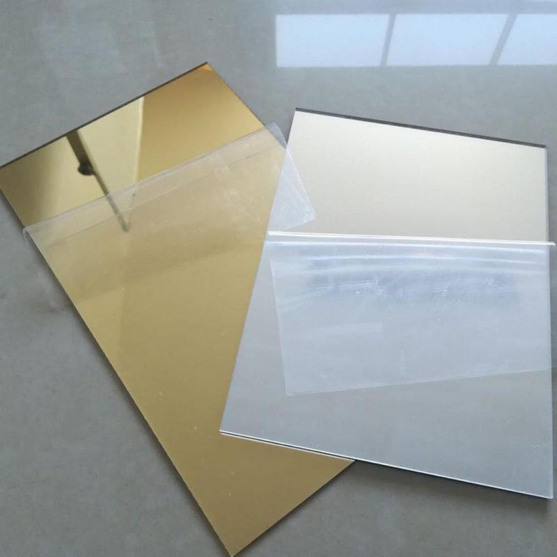 tấm nhựa acrylic gương