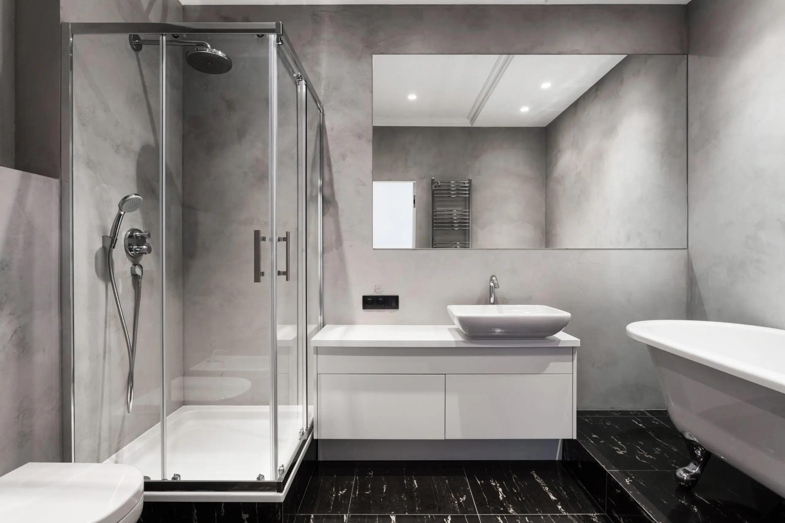 Vách ngăn phòng tắm đứng là gì?
