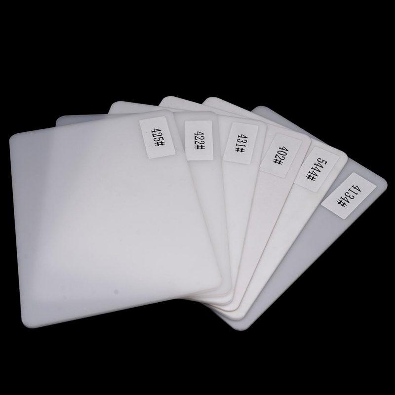 tấm nhựa mica acrylic pmma trắng sữa mica màu 425